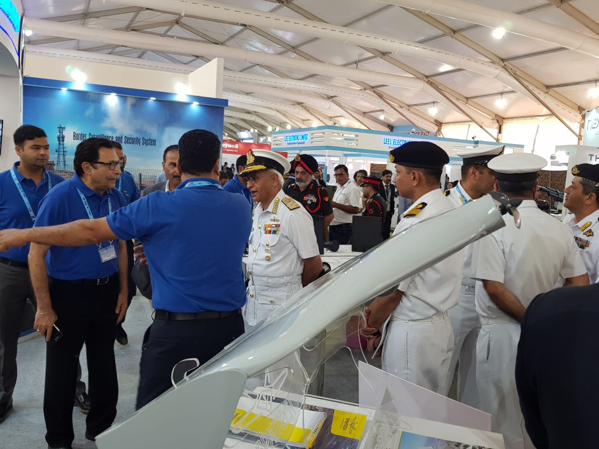 Spaitech at Defexpo 2018, start up manufacturing in India