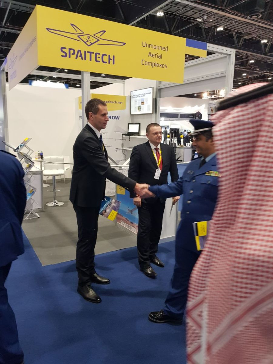 Developments of Spaitech have achieved international recognition at UMEX exhibition 2018