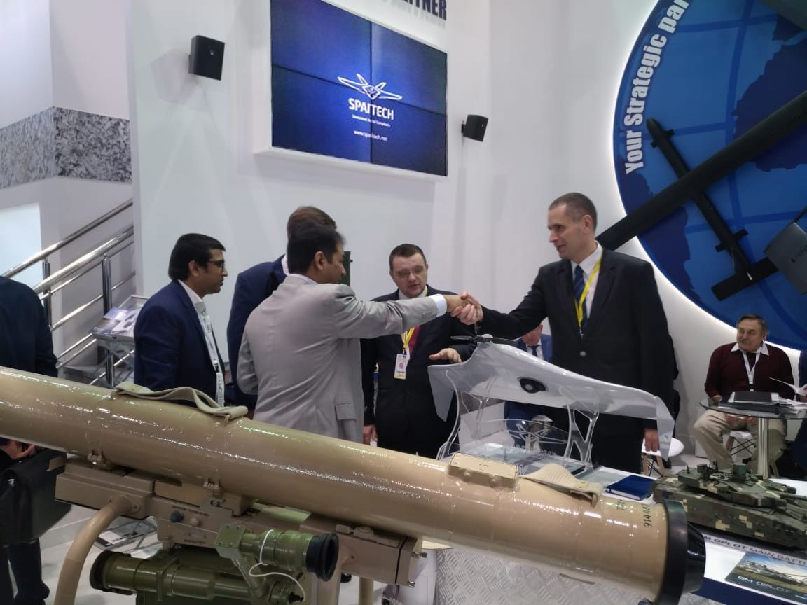 SPAITECH company participated in the international defence exhibition IDEX 2019